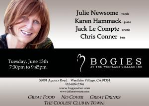 Julie Newsome Bogie's June 13th, 2017